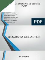 Analisis Literario de Beso de Plata