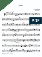 Trumpet Sonata - Trumpet Part