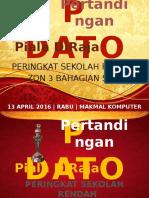 banner Pertandingan Pidato Piala Diraja