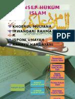 Konsep Hukum Islam