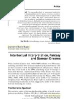 intertextual interpretation, fantasy