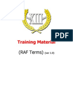 RAF Slang