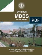 Syllabus - MBBS