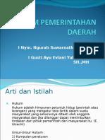 Powerpoint Hukum Pemerintahan Daerah