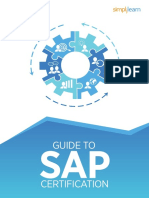 Guide to SAP Certificate