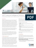 Sas Customer Intelligence Solutions