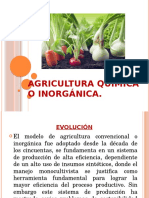 Agricultura Química o Inorgánica