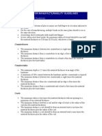 DMF Sheet Metal Guidelines