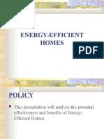 Energy Efficient Home Sangre s