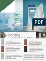 Doors Booklet