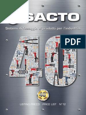 50 Inserti Filettati Esagonali Testa Cilindrica Acciaio M8 32M8 TPE by sacto
