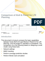 Comparison of Atoll Planet for LTE