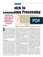 Batch to Continuous Processing