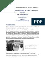 Manual de Derechos Humanos Aplicados a La Funcion Policial