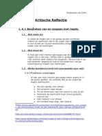 kritische reflectie ogp 3