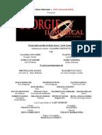 CS- Georgie Il Musical_ Brano Inedito Inserito Nello Spettacolo
