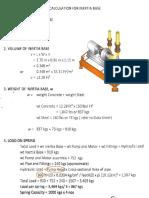 Inertia Base Isolator Selection