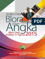 Analisa Data Blora Dalam Angka 2015