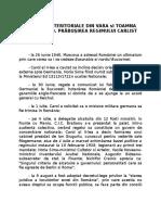 Pierderi Teritoriale Romanie 1940