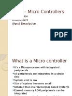 8051 – Micro Controllers