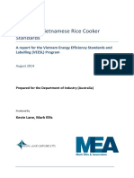 Review of Vietnamese Rice Cooker Standards a Report for the VEESL Program