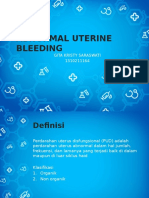 Abnormal Uterine Bleeding