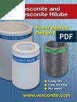 Vesconite Pump Bearing Design Manual