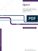 RICS Senior Professional Assessment-candidate Guidance-2015
