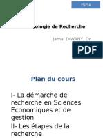 Cours Méthodologie de Recherche FSJESA 2011 2012 DIWANY (1)