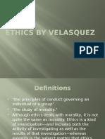 1.Ethics by Velasquez
