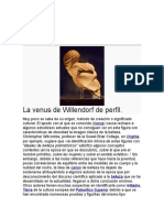 Venus de Willendorf Interpretación