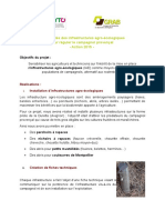 Potentialités des infrastructures agro-écologiques pour réguler le campagnol provençal