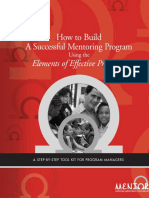How to Build an Effective Mentoring Program