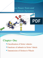 chapter one power train