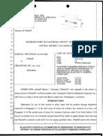 Holtzman v. Cirgadyne – Plaintiff's Memorandum of Points and Authorities