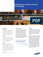 Cloud Display_University of Portland_Case Study