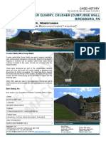Primary Crusher Wall, Dyer Quarry, Birdsboro, PA