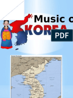 Music of Korea