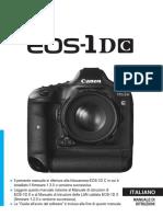 EOS-1D C Instruction Manual IT