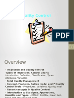 4.1 Quality Control