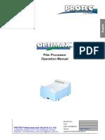 Optimax Manual