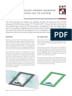 CST Whitepaper RFID Simulation Tag System Level
