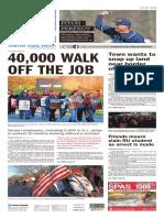 Asbury Park Press front page, Thursday, April 14, 2016
