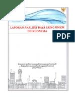 Laporan Analisis Daya Saing UMKM Di Indonesia