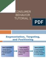 Lecture 1 -Consumer Behaviour Tutorial
