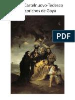 Castelnuovo Tedesco Caprichos de Goya