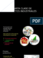TERCERA CLASE DE PROYECTOS INDUSTRIALES
