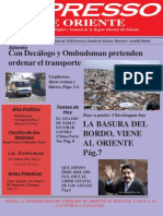 Expresso-lunes 3 Mayo