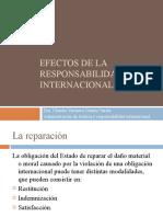 2. Efectos de La Responsabilidad Internacional