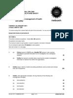 2011 01 IDIP Unit a Past Paper